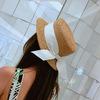 Женская летняя соломенная шляпка