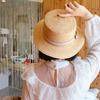 Женская соломенная шляпка
