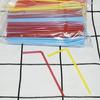 ТРУБОЧКИ с изгибом цветные 210*5мм (250шт)