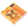 """70166 - Салфетки бумажные 22х22см """"Бабочки"""" трехслойные, 20 штук в упаковке"""