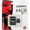 Карта памяти micro SDHC 64Gb Kingston Class10 с адаптером SD