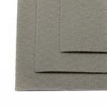 Фетр листовой жесткий IDEAL 1мм 20х30см арт.FLT-H1 уп.10 листов цв.648 св.серый