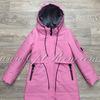 K-8811-R1 Удлиненная демисезонная куртка д\д (134-158)