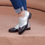 Кожаные туфли оксфорды 28635