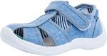 421032-11_28 размер, голубой туфли летние дошкольные текстиль 6