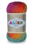 Дива батик (Diva batik) пряжа Alize