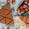 Карамельный шоколад с фундуком