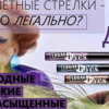"""РБ Подводка  д/глаз цветная """"Legal Eyes"""""""