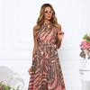 Платье хлопок вуаль розово коричневое платье
