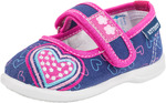 13108712 туфли ясельно-малодетские текстиль син-фук 20-26