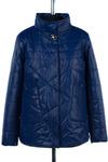 Куртка демисезонная (синтепон 100) Плащевка Синий