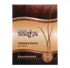 Травяная краска для волос Ааша, 60 г
