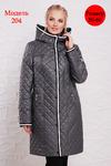 Женское демисезонное пальто 204: Welly