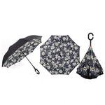 """Зонт """"Белые цветы"""""""