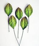 Листья зеленые средние / 500 шт в упак