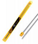 Спицы для вязания прямые Maxwell, металл длина 35 см (2 шт)