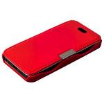 Чехол-книжка кожаный i-Carer для iPhone SE/ 5S/ 5 luxury series side-open (RIP514red) Красный