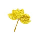 Листочки декоративные MAGIC HOBBY арт.TBY-L2 уп.10шт цв. золото