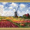 """1643 """"Поле с тюльпанами"""" по мотивам картины К. Моне"""