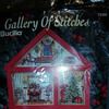 Gallery of Stitches Bucilla, Christmas House, 7 X 10 Counted Cross-stitch Hutch