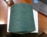 Пряжа хлопок/полиэфир 34/1 HAKSA (2351) зелёный
