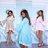 Платье для беременных с гипюром