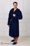 Мужской махровый халат с капюшоном МЗ-05 (88)