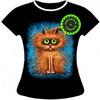 Женская футболка Пухнаст 878