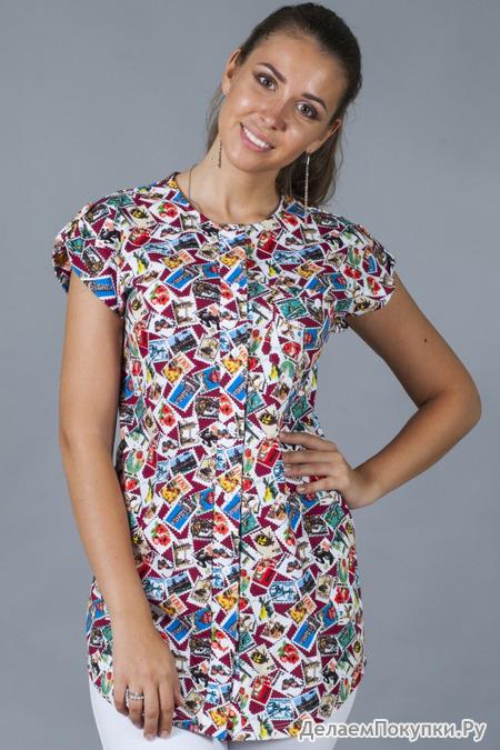 Рубашка женская №1 (без рукава)