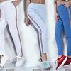 Абсолютно не лишними в гардеробе девушки станут еще одни спортивные штаны.