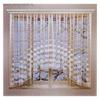 Штора со шторной лентой, ширина 250 см, высота 160 см, цвет белый