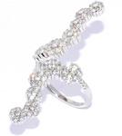 Серебряное кольцо Артикул: 01qrgmi01916-19