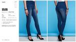Брюки джинсовые жен. Irvin синий