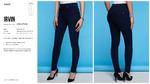 Брюки джинсовые жен. Irvin темно-синий