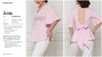 Блузка жен. Zerda светло-розовый