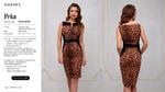 Платье жен. Peka коричневый