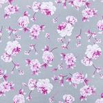 Ткань на отрез кулирка Цветы 6044-V2 (за 1 м) без рядов