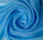 Вуаль однотонная Сильвия Артикул: 1/011-18 голубой