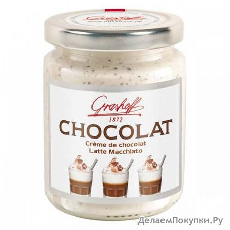 """Белый шоколадный крем """"Латте Макиато"""", 250 гр."""