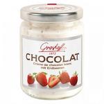Белый шоколадный крем с клубникой, 250 гр.
