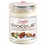 Белый шоколадный крем с фисташками и миндалем, 235 гр.