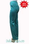 Слегка приуженные мятно-бирюзовые джинсы (48-60) размер