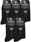 Мужские носки Байвэй 502-1112 чёрные хлопок