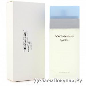 Тестер D&G Light Blue pour femme 100 ml (ж)