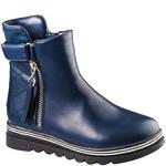 Ботинки деми для девочек Bi&Ki A-B21-54-B син