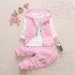 Комплект на девочку розовый