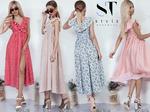Интригующий и манящий прикид из натурального материала привлекательной расцветки в трендовом дизайне подчеркнет хороший вкус модницы