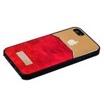 Чехол-накладка с яблоком для iPhone SE/ 5S/ 5 красная