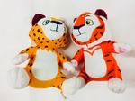 Мягкая игрушка Лео и Тигр, в ассортименте