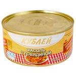 КУБ Фасоль с говядиной красная 0,325